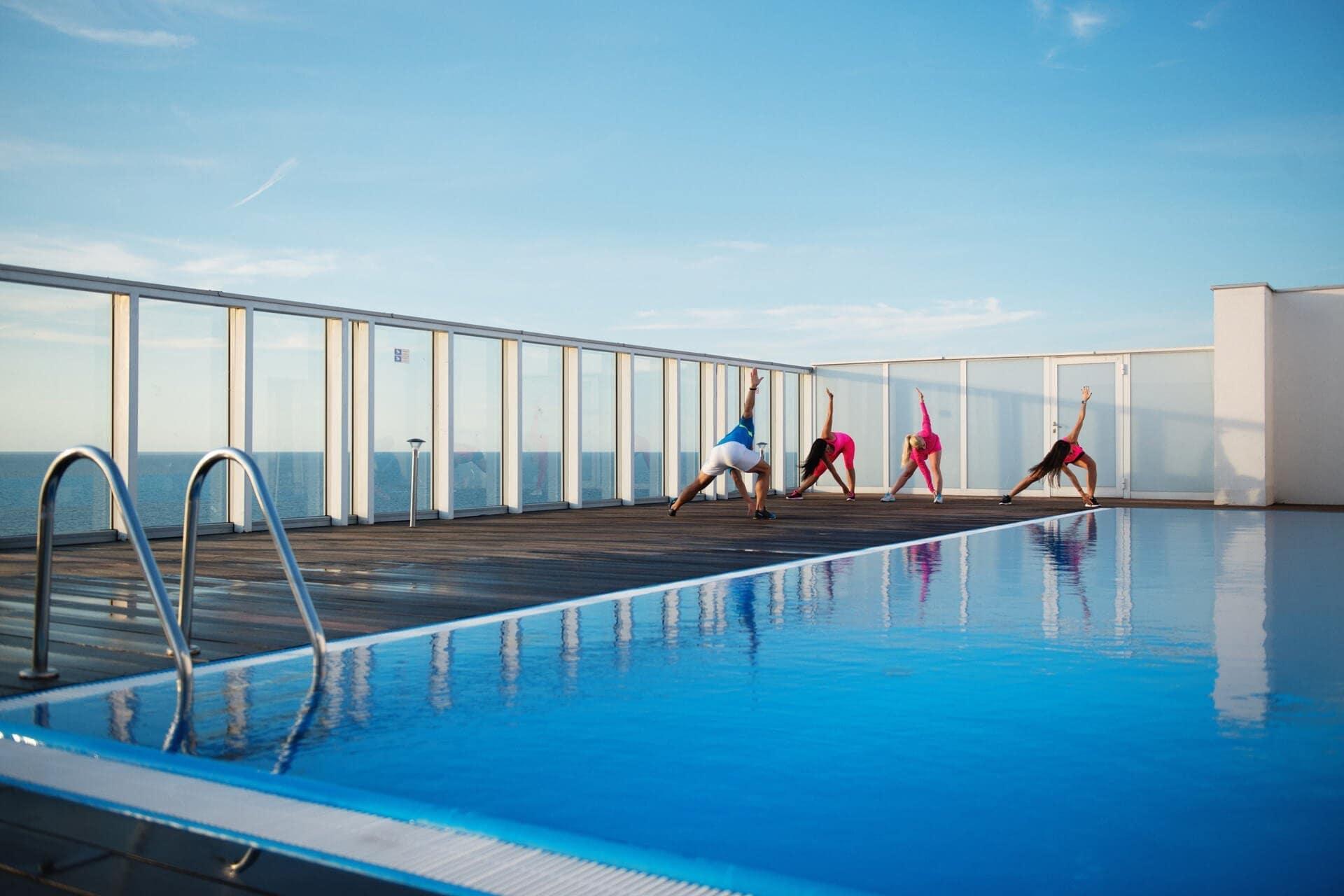 Międzyzdroje - Promenada Gwiazd 28 - apartament na wynajem - basen