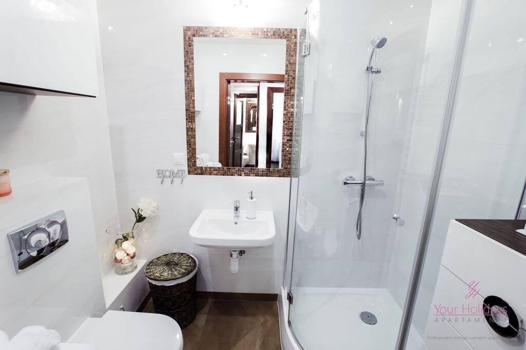 Międzyzdroje Apartament Promenada Gwiazd 28/307 - łazienka