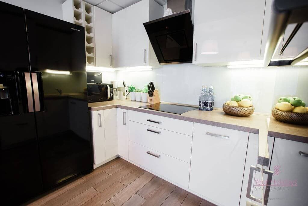 Międzyzdroje Apartament Promenada Gwiazd 28/307 - kuchnia