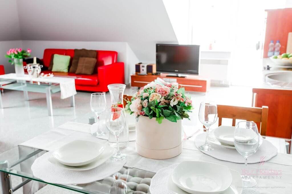 Międzyzdroje Apartament Red Attico - salo